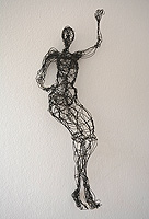 Wiremen, Skulptur, Evelyn Detterbeck